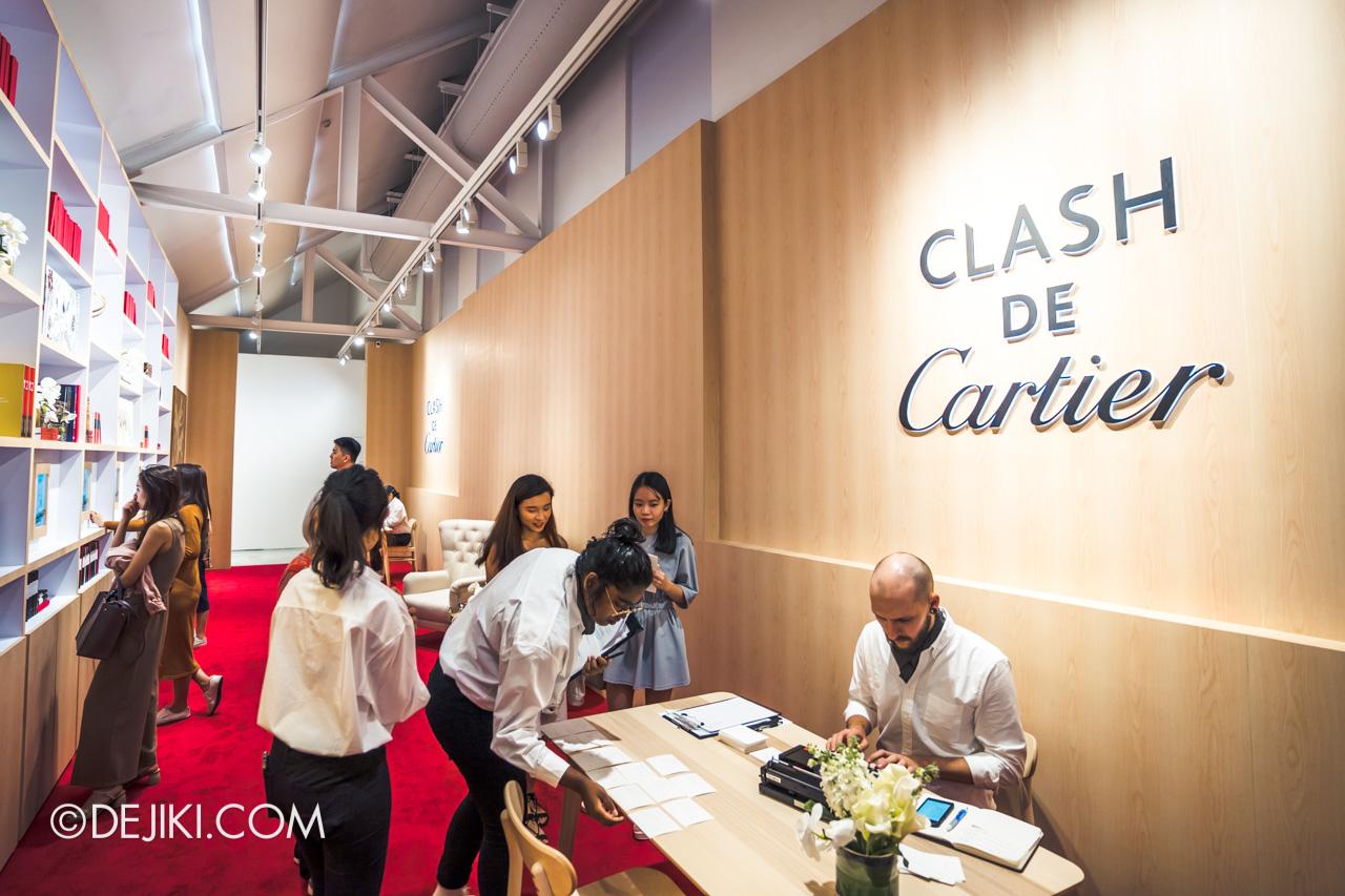 Clash de Cartier Studio Singapore Bookstore overview