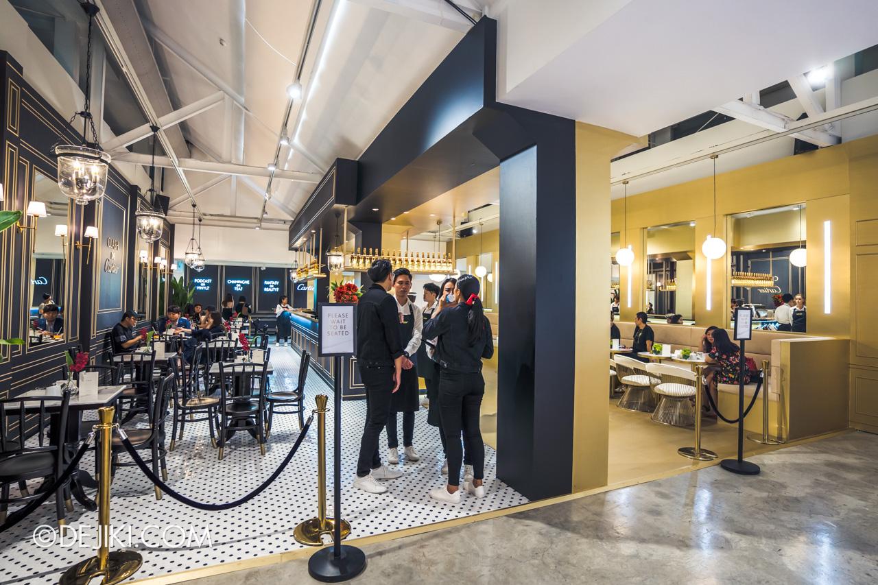 Clash de Cartier Studio Singapore Level 2 overview