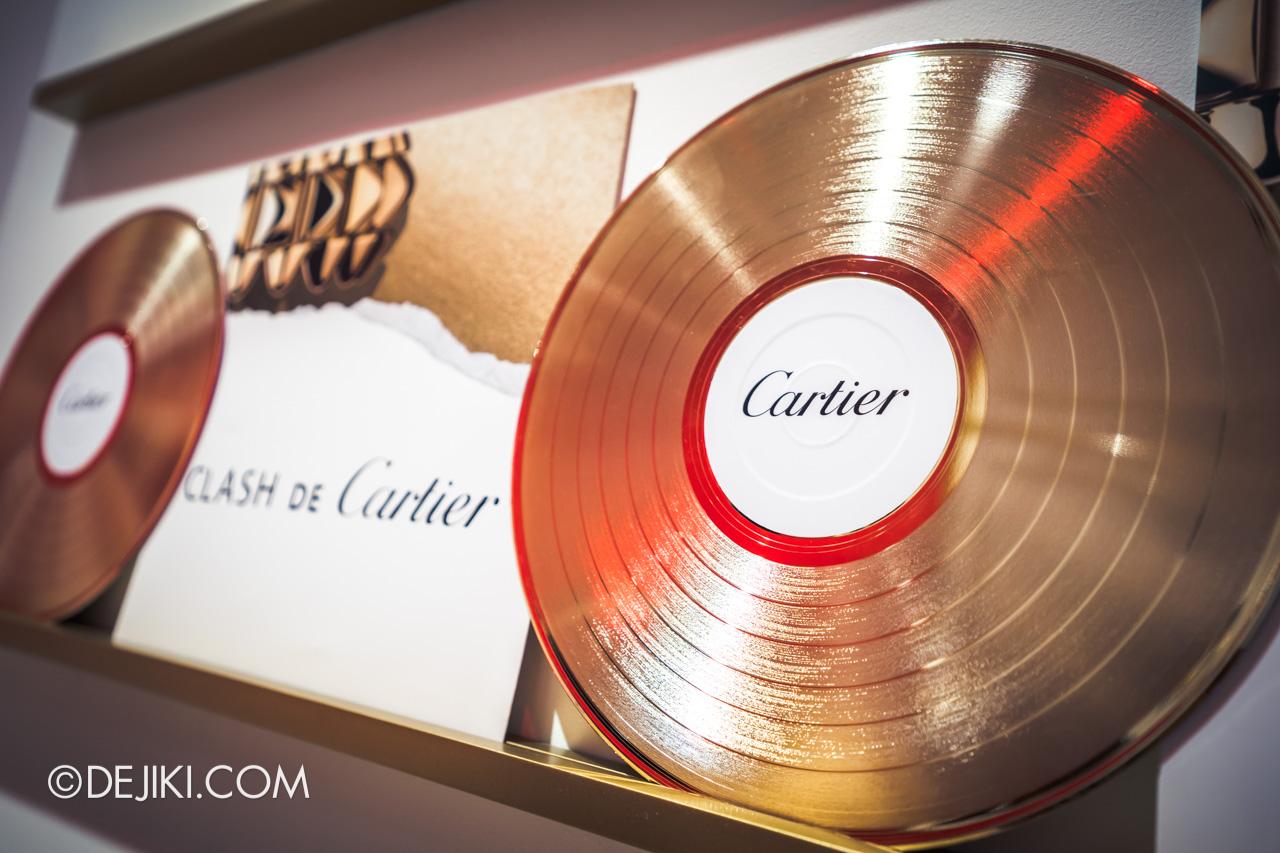 Clash de Cartier Studio Singapore Record Store closeup