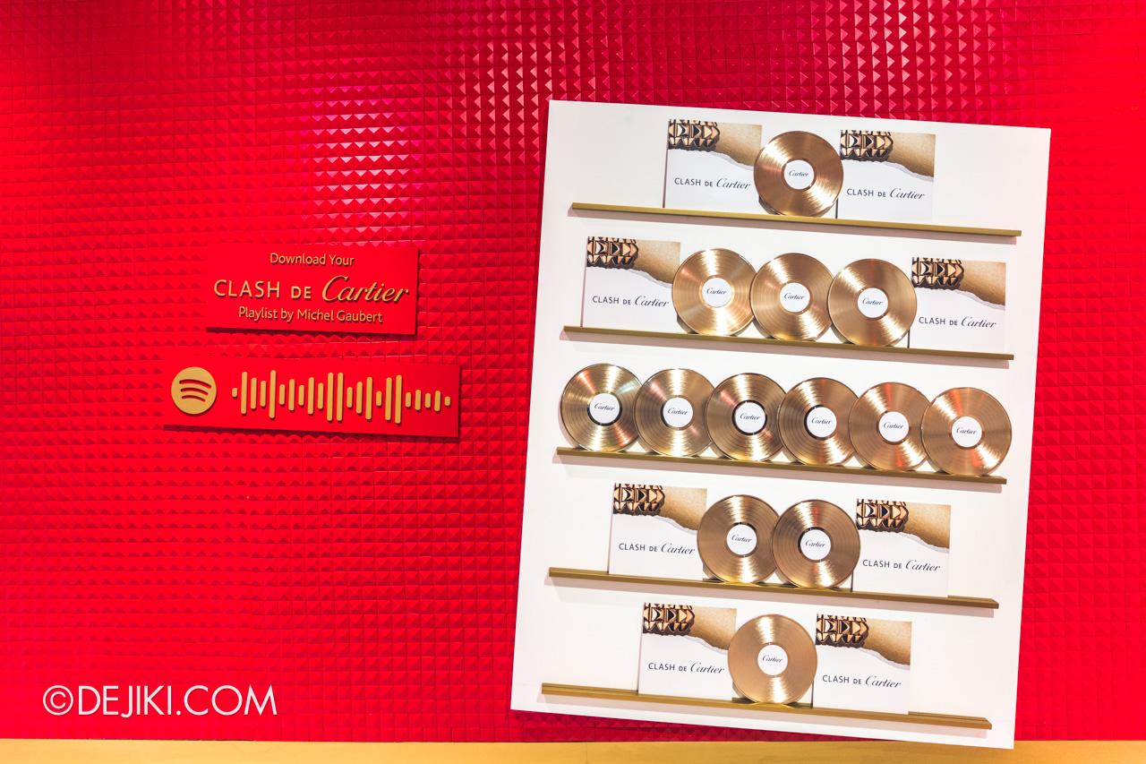 Clash de Cartier Studio Singapore Record Store red wall