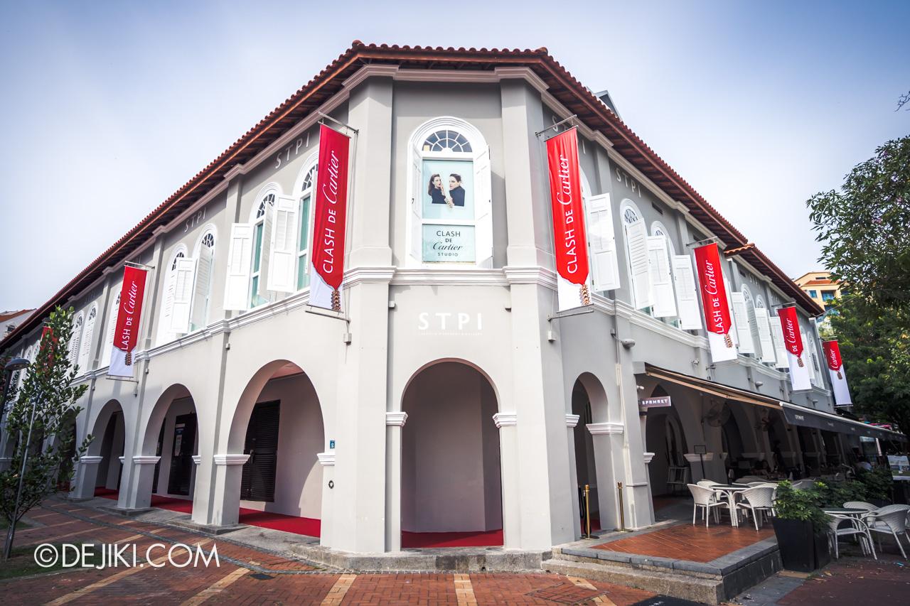 Clash de Cartier Studio at STPI Singapore exterior