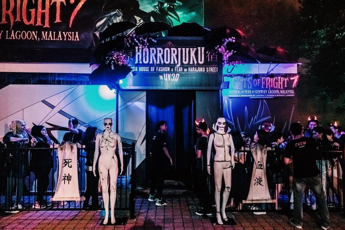 Sunway Lagoon Malaysia Nights of Fright 7 Haunted House Horrorjuku 1