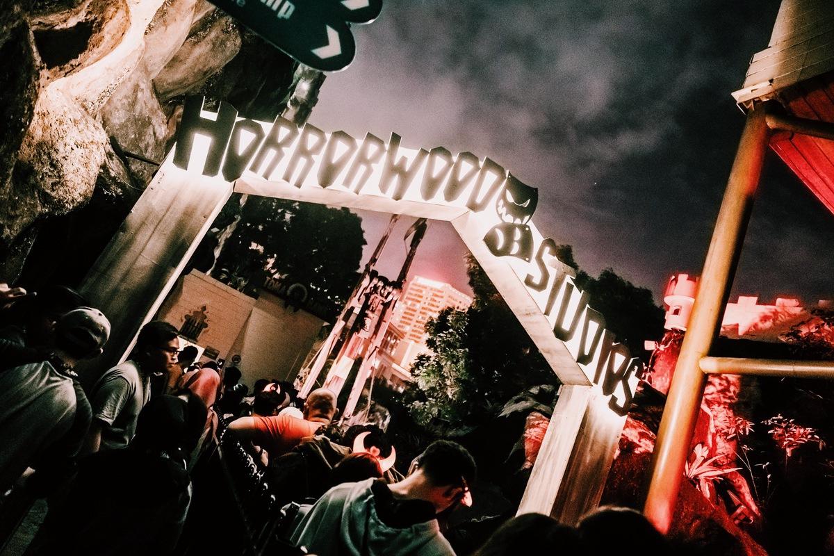 Sunway Lagoon Malaysia Nights of Fright 7 Haunted House Horrorwood Studios and Animalium