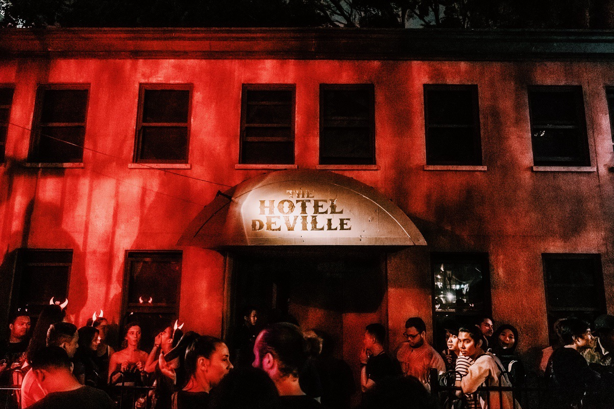 Sunway Lagoon Malaysia Nights of Fright 7 Haunted House Hotel Deville
