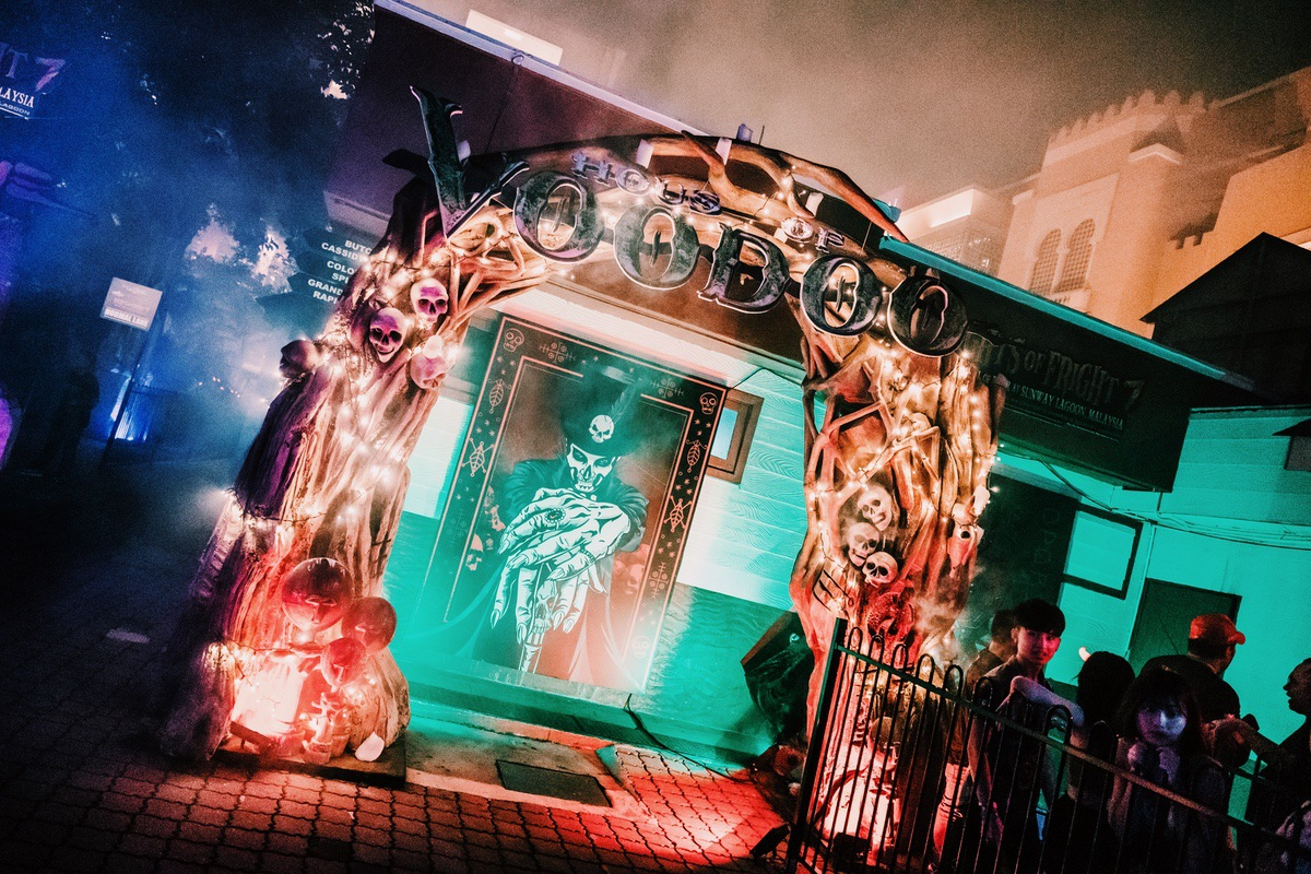 Sunway Lagoon Malaysia Nights of Fright 7 Haunted House House of Voodoo 1