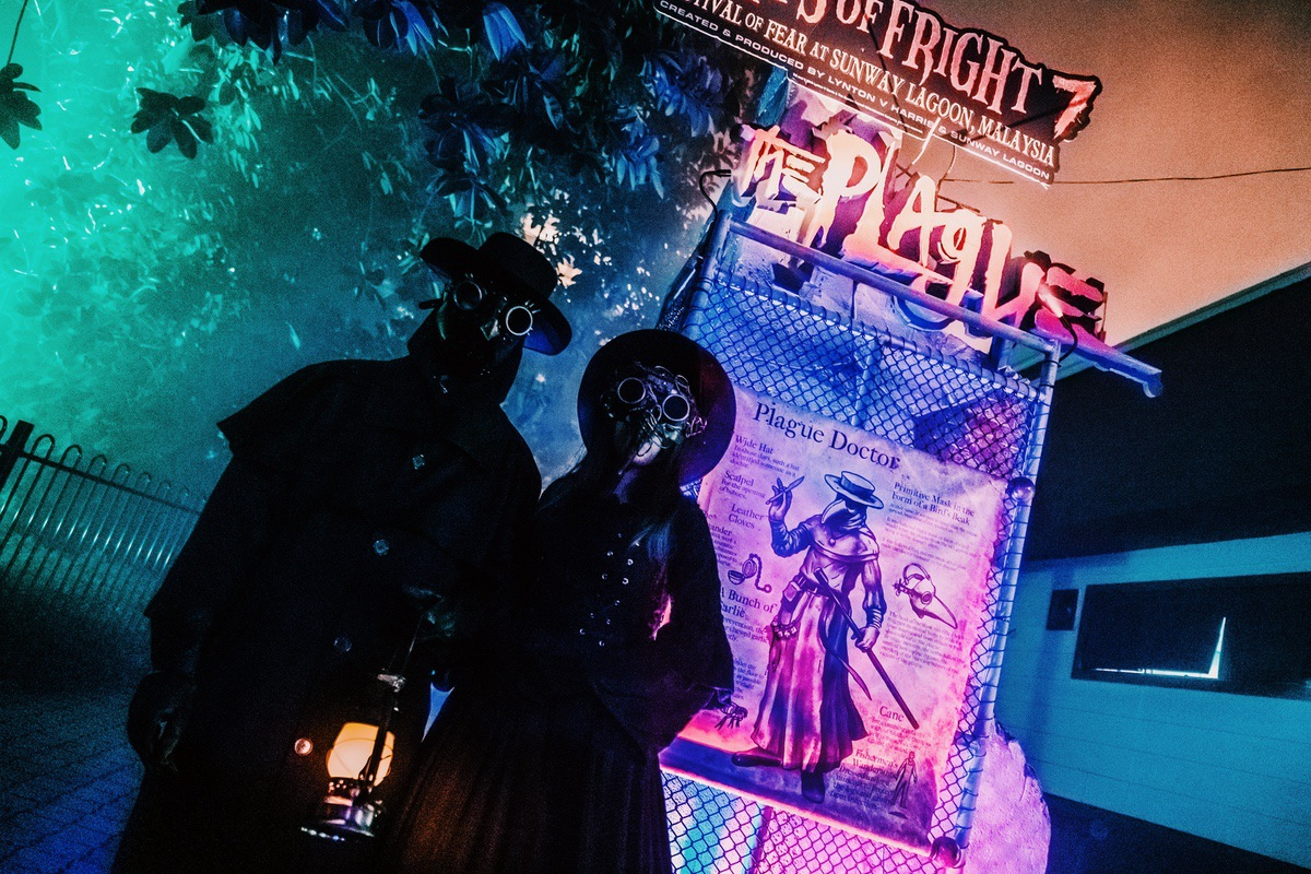 Sunway Lagoon Malaysia Nights of Fright 7 Haunted House The Plague