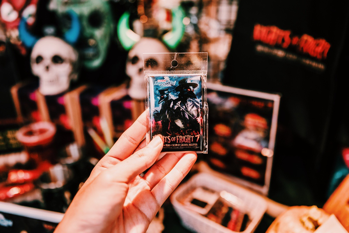 Sunway Lagoon Malaysia Nights of Fright 7 Pre Opening Stuff Merchandise NOF7 Magnet