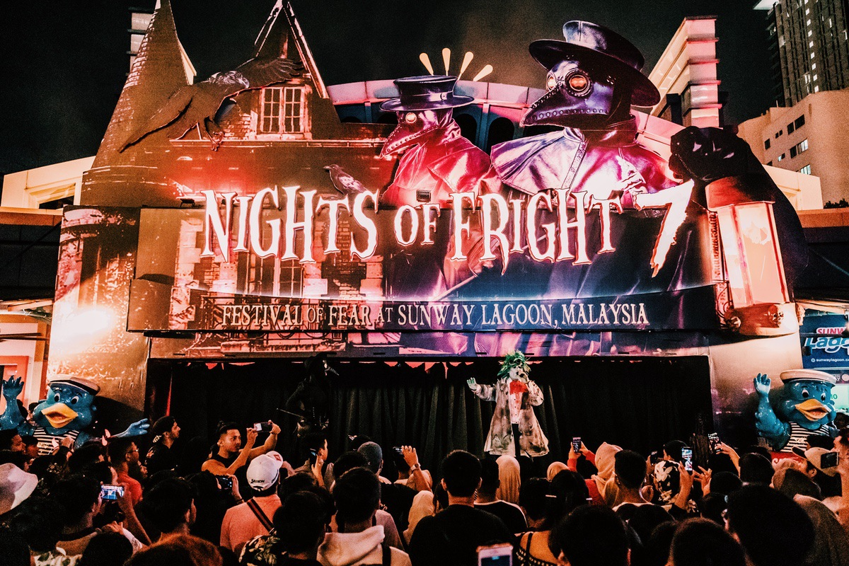 Sunway Lagoon Malaysia Nights of Fright 7 opening ceremony show