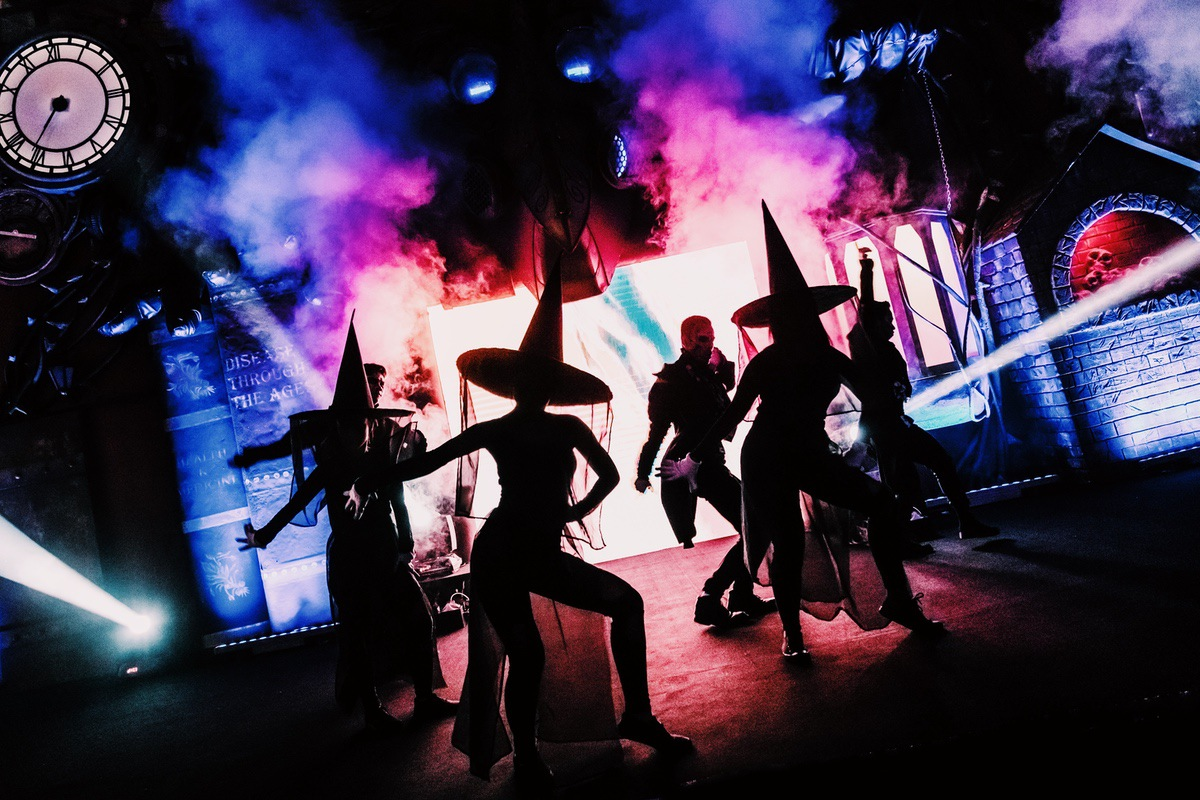 Sunway Lagoon Malaysia Nights of Fright 7 stage show 1