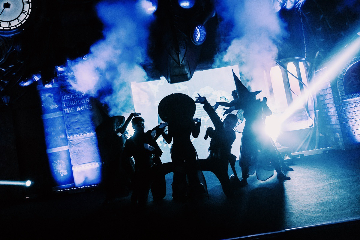Sunway Lagoon Malaysia Nights of Fright 7 stage show 2
