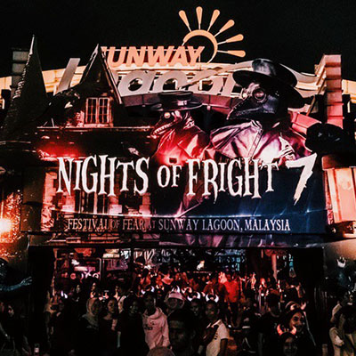 Sunway Lagoon NOF7 Nights of Fright 7 sq