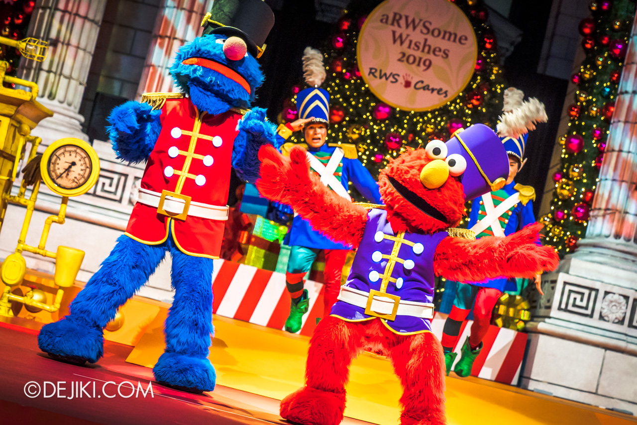 Universal Studios Singapore A Universal Christmas 2019 event The Great Christmas Invention 10 sesame street nutcracker