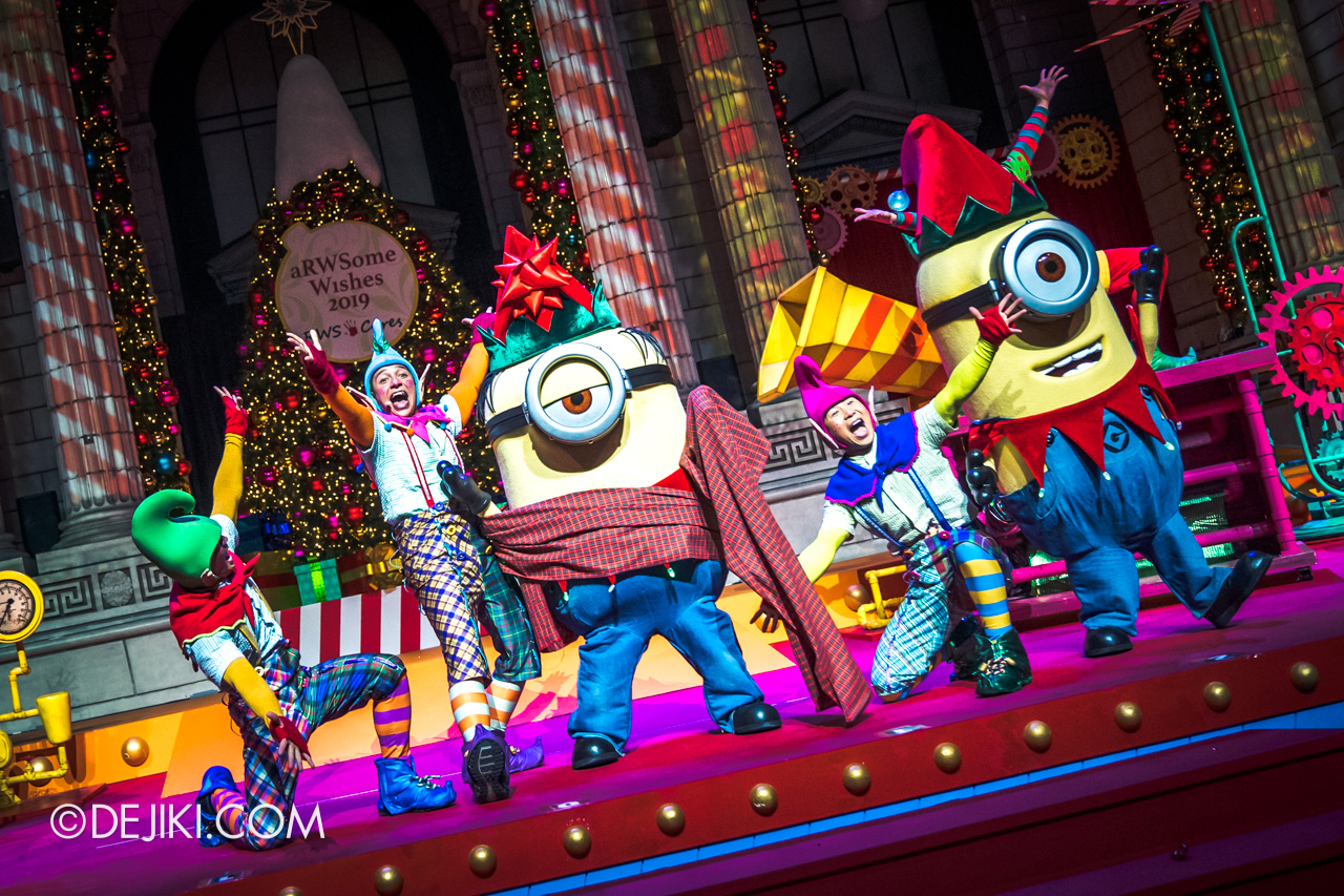 Universal Studios Singapore A Universal Christmas 2019 event The Great Christmas Invention 11 minions