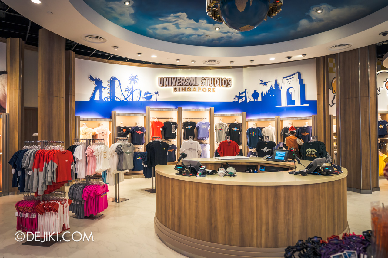 Universal Studios Singapore Park Update December 2019 Universal Studios Store renovated overview 2