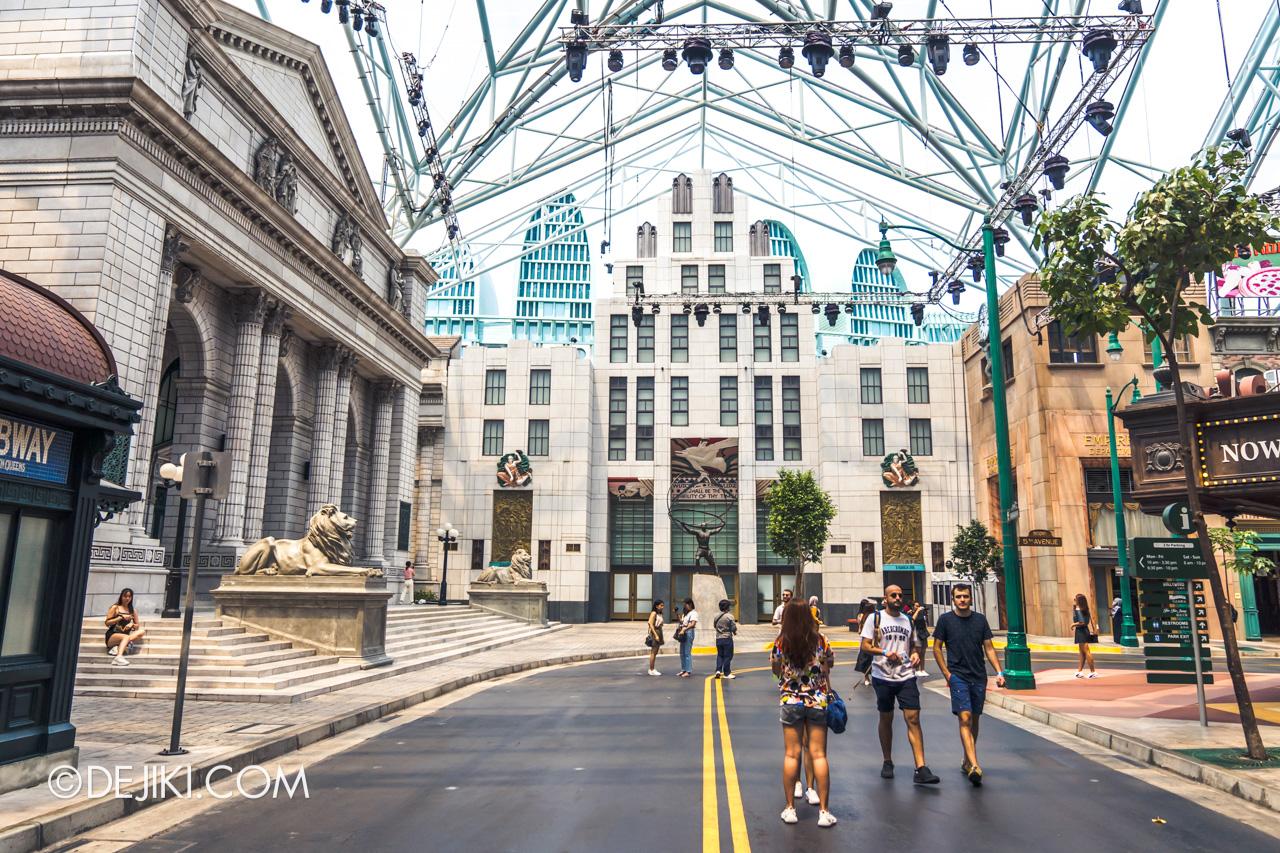 Universal Studios Singapore Park Update November 2019 HHN9 Aftermath Death Fest gone