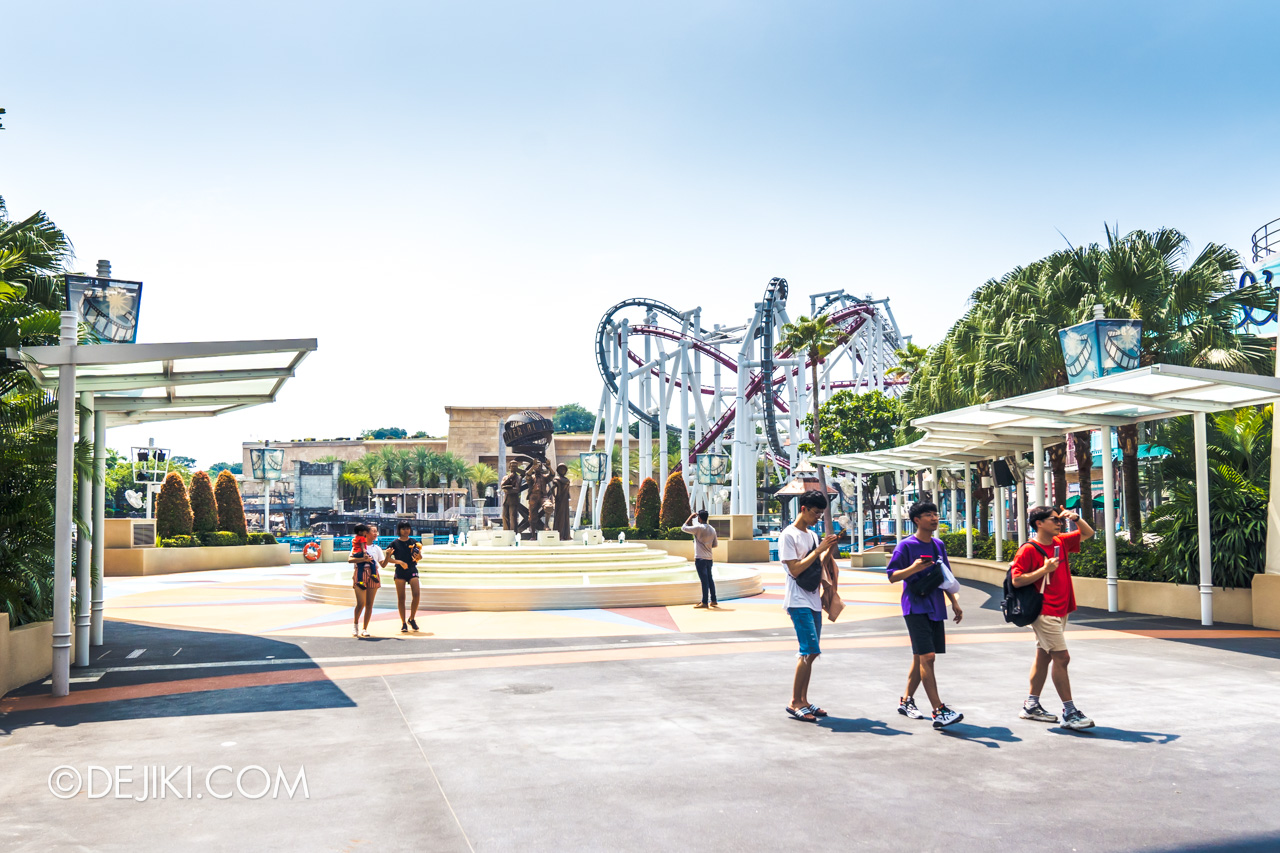 Universal Studios Singapore Park Update November 2019 HHN9 Aftermath Halloween Carnival removed