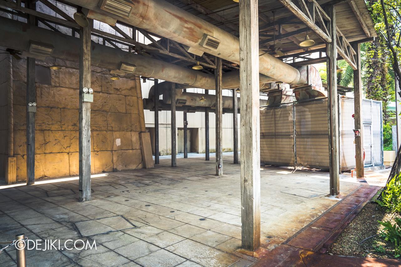 Universal Studios Singapore Park Update November 2019 HHN9 Aftermath Spirit Dolls removed