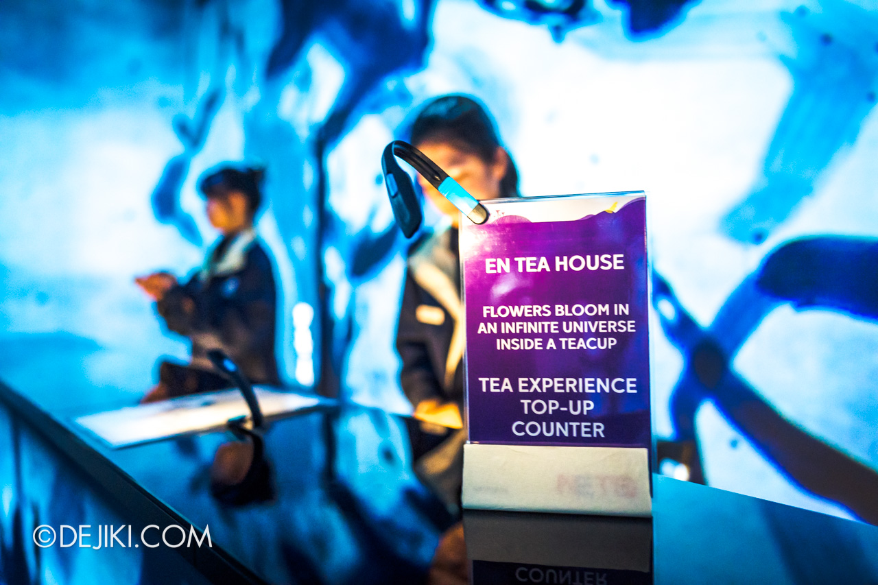 Gardens by the Bay 2020 Future Together by Teamlab Japan En Tea House 2