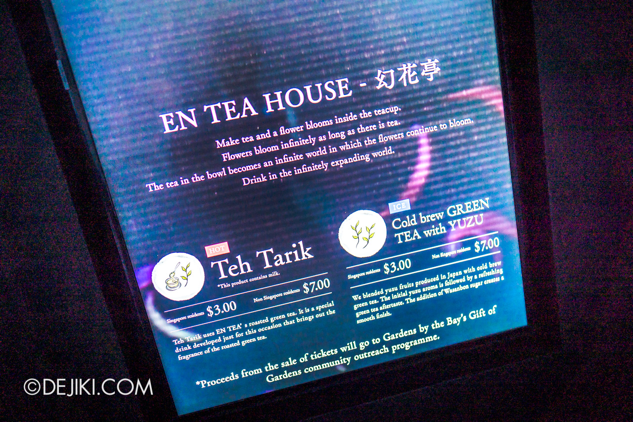 Gardens by the Bay 2020 Future Together by Teamlab Japan En Tea House