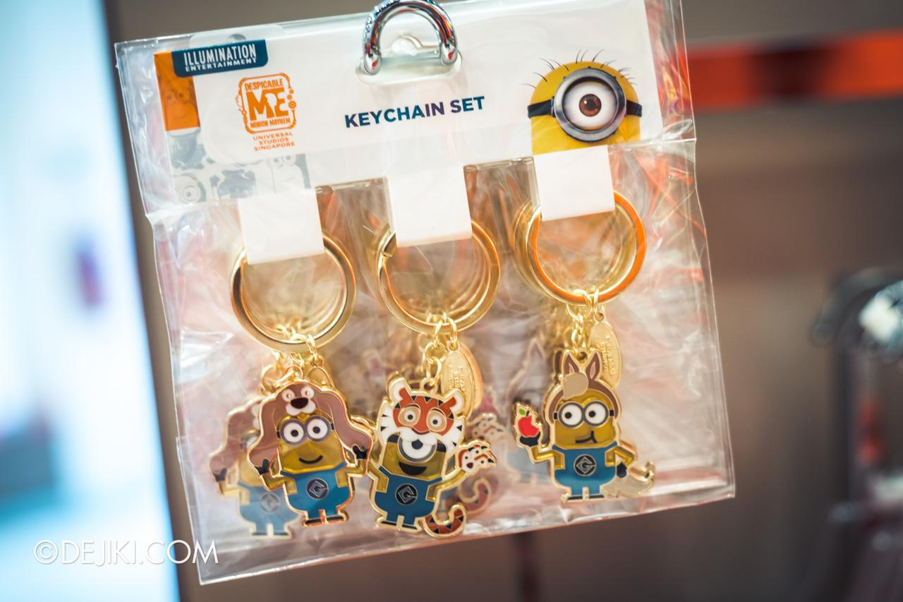 Universal Studios Singapore Chinese New Year 2020 Minions Zodiac keychain set