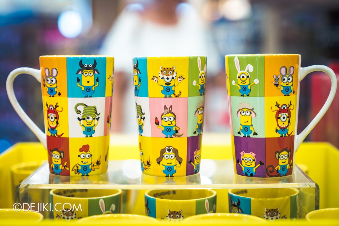 Universal Studios Singapore Chinese New Year 2020 Minions Zodiac mug design
