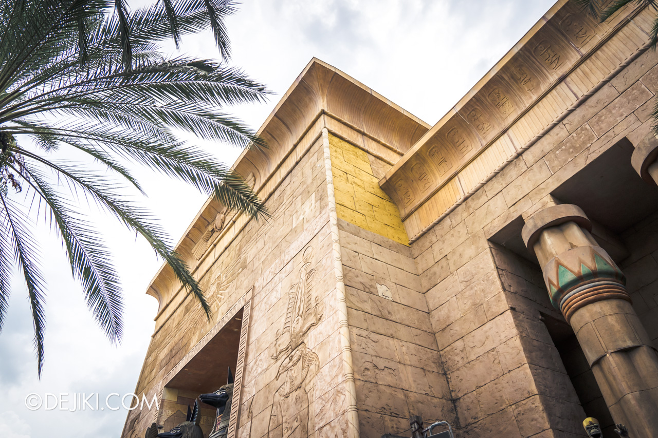 Universal Studios Singapore January 2020 Park update Ancient Egypt refurbishments and repairs 1