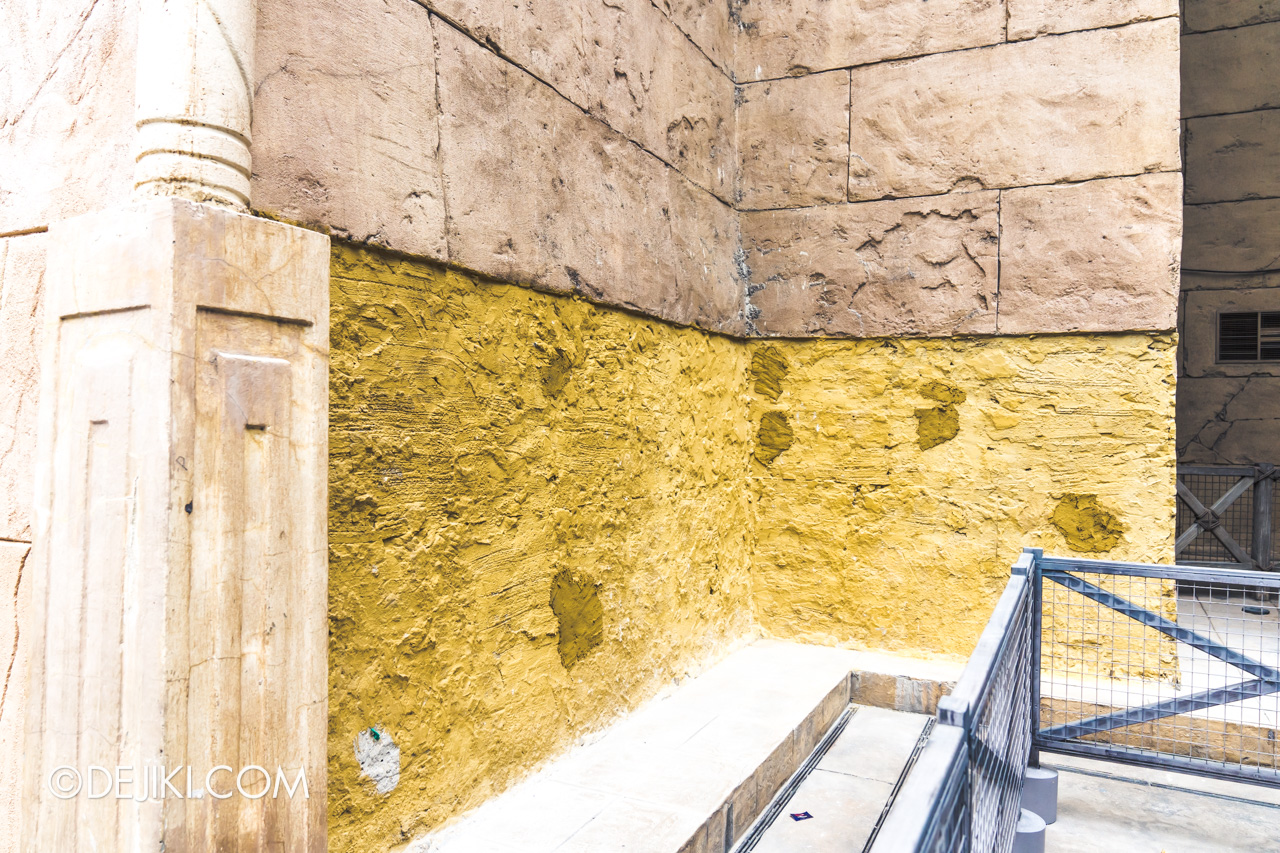 Universal Studios Singapore January 2020 Park update Ancient Egypt refurbishments and repairs 2