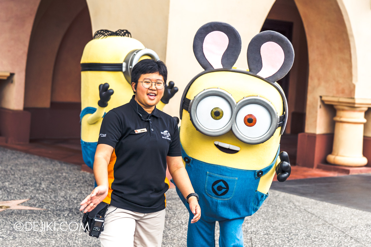 Universal Studios Singapore January 2020 Park update Chinese New Year Minions Meet and Greet 2020 Bob