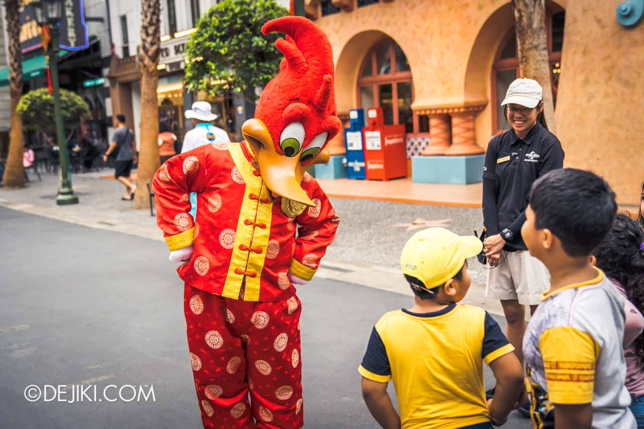 Universal Studios Singapore January 2020 Park update Chinese New Year Woody Meet and Greet 1