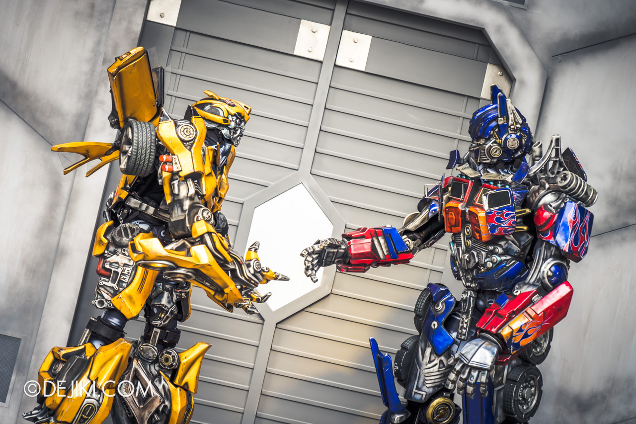 Universal Studios Singapore January 2020 Park update New Transformers Meet and Greet Bumblebee and Optimus Prime