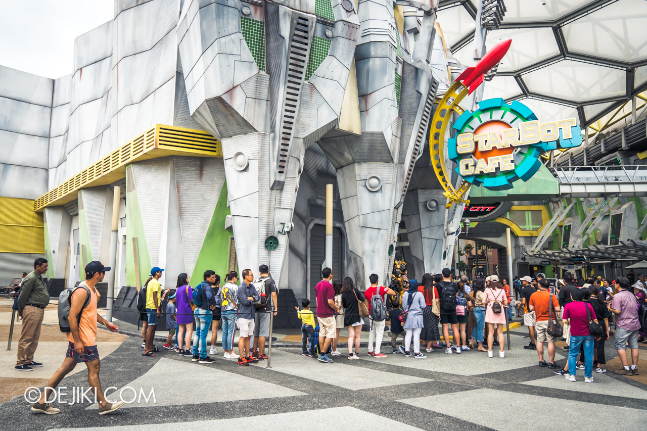 Universal Studios Singapore January 2020 Park update New Transformers Meet and Greet area at Starbot