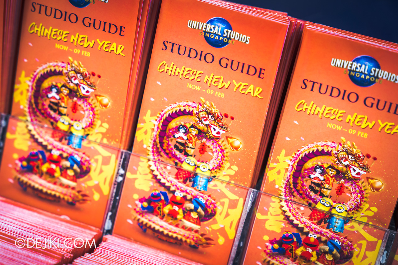 Universal Studios Singapore January 2020 Park update new park maps