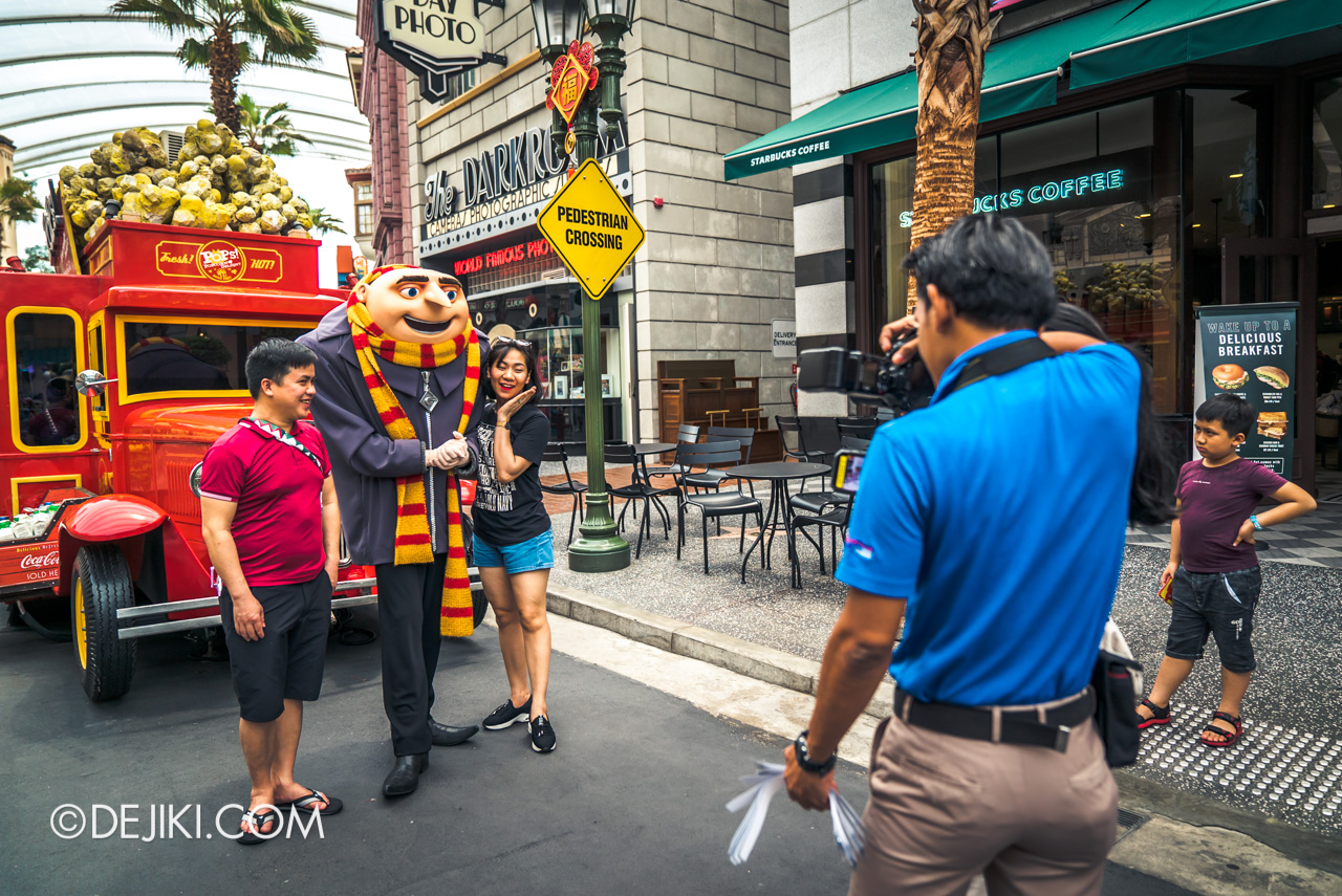 Universal Studios Singapore Park Update Feb 2020 Meet and Greet Gru