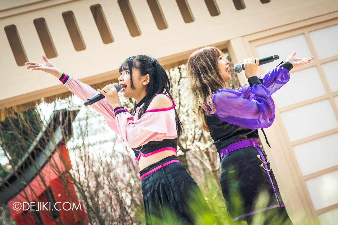 Gardens by the Bay Sakura Matsuri 2020 Flower Field stage performance Anisong by Tokimeki JUMP
