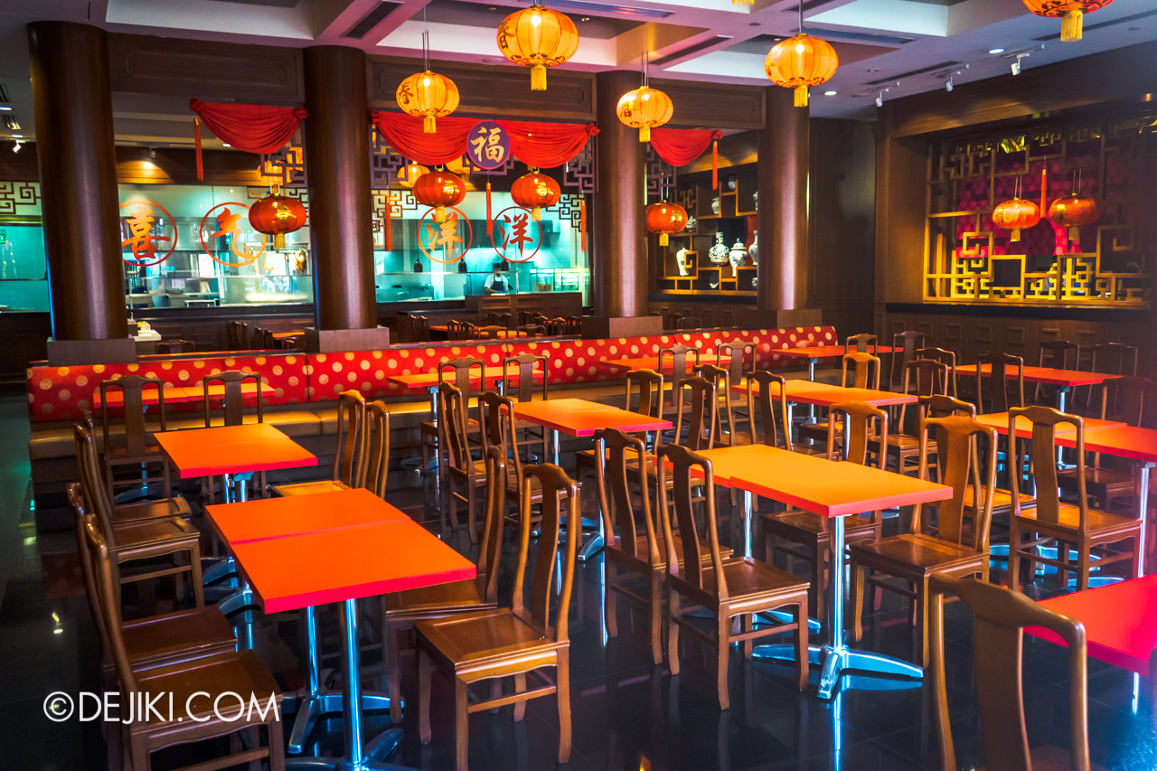 Universal Studios Singapore 10th Anniversary Flashback 2015 Hollywood China Bistro Quick