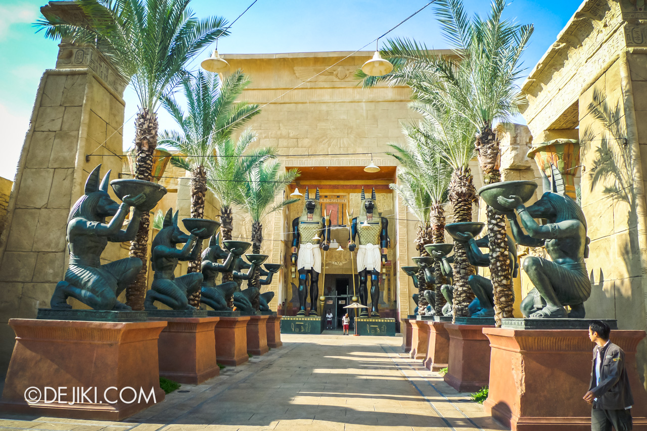 Universal Studios Singapore 10th Anniversary Flashback Ancient Egypt in 2010 Temple