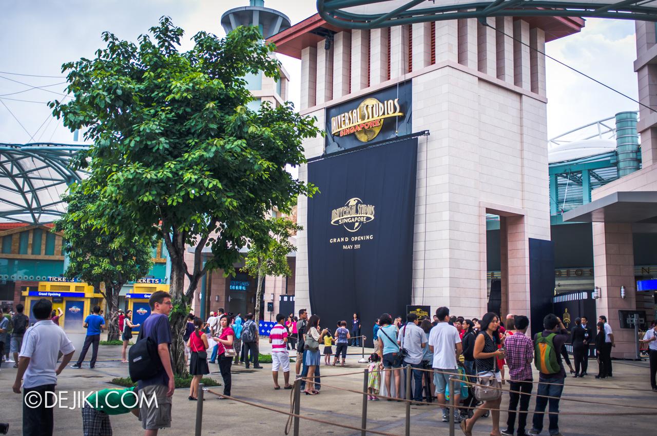 Universal Studios Singapore 10th Anniversary Flashback Grand Opening May 2010