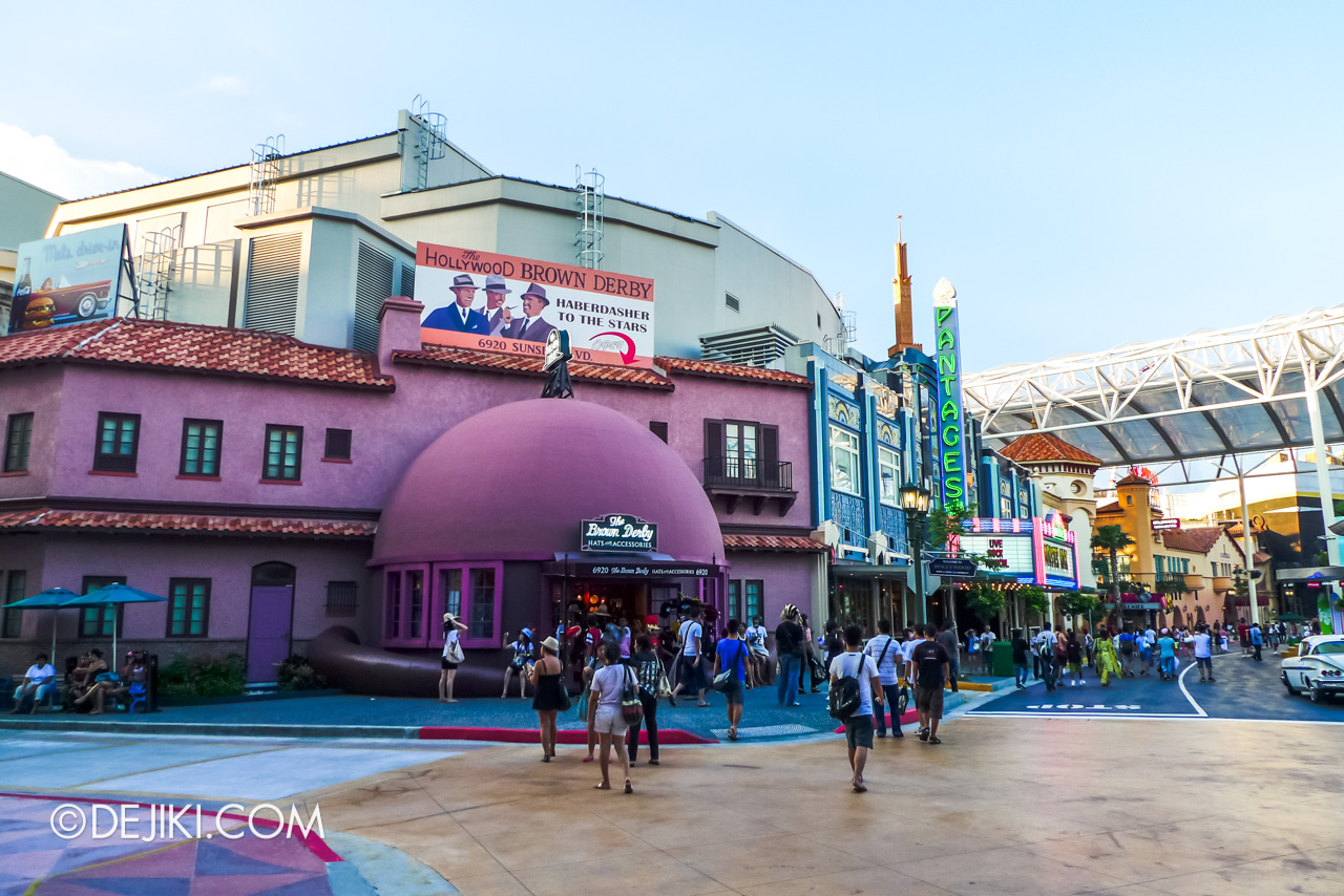 Universal Studios Singapore 10th Anniversary Flashback Hollywood original Brown Derby