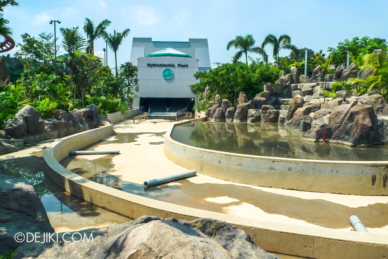 Universal Studios Singapore 10th Anniversary Flashback Jurassic Park early problems with Rapids Adventure