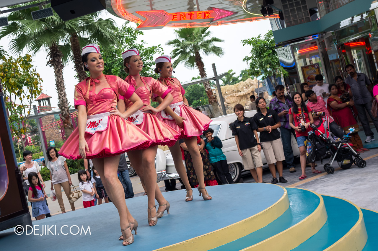 Universal Studios Singapore 10th Anniversary Flashback Mels Dinettes 2011