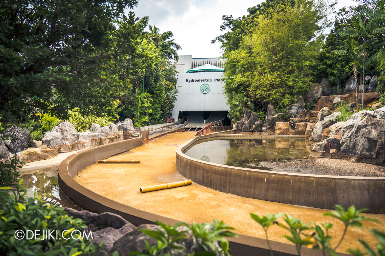 Universal Studios Singapore Covid 19 Park Update Mar Apr 2020 Refurbishments at Jurassic Park Rapids Adventure