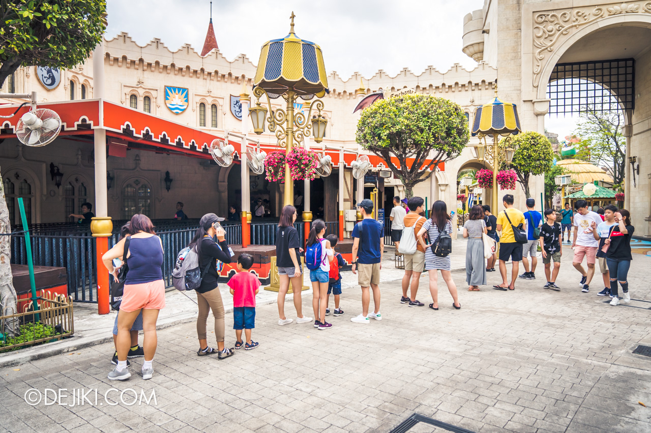 Universal Studios Singapore Covid 19 Park Update Mar Apr 2020 Social distancing measures longer queues for rides