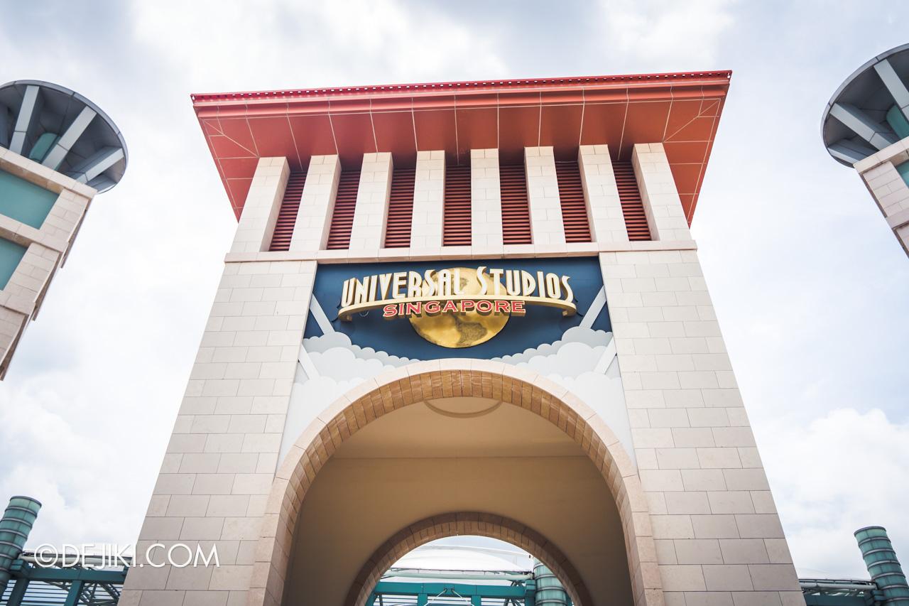 Universal Studios Singapore Reopening Park Update June 2020 Park entrance