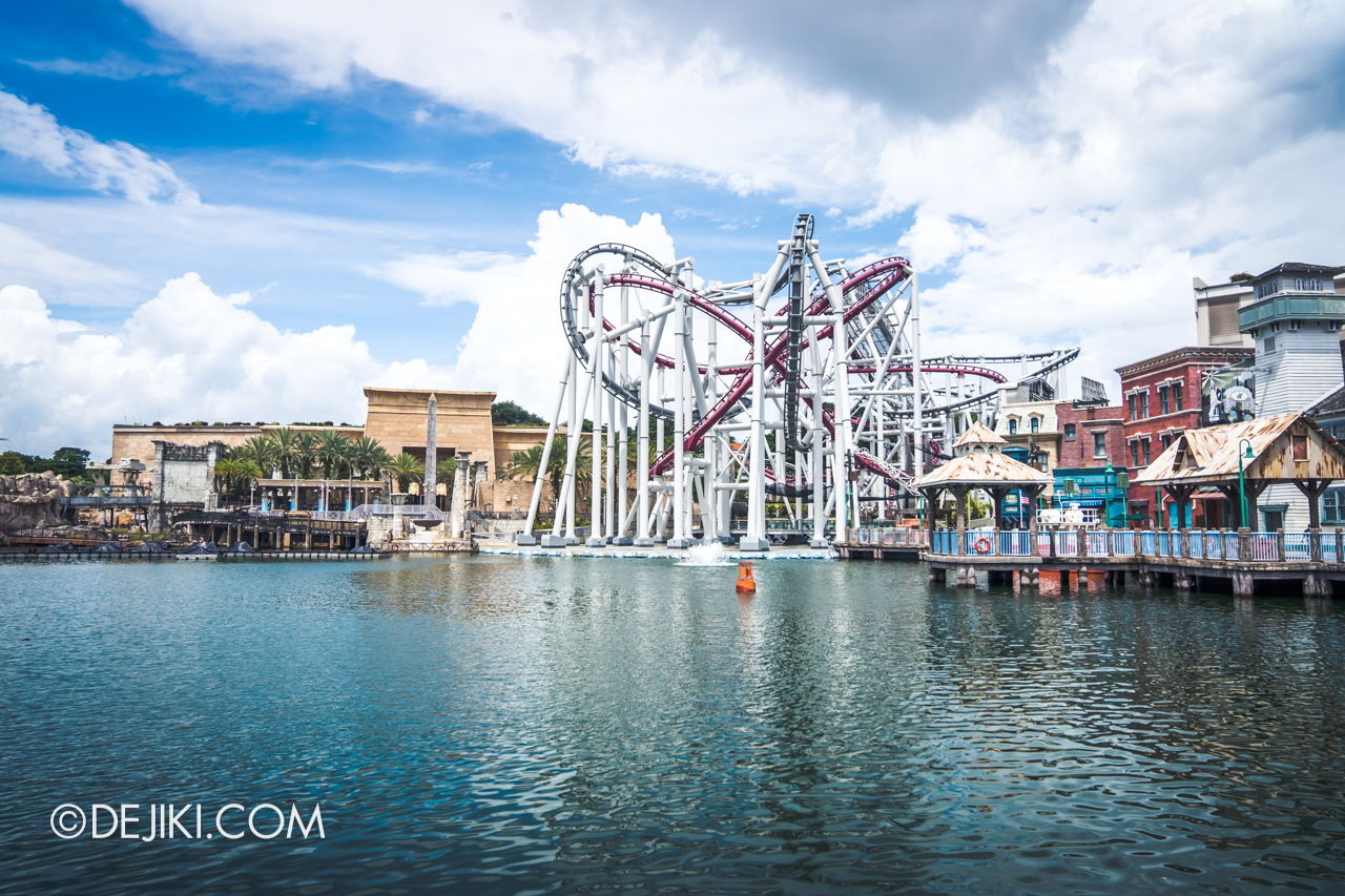 Universal Studios Singapore Park Update July 2020 Reopening Lake Hollywood Lagoon