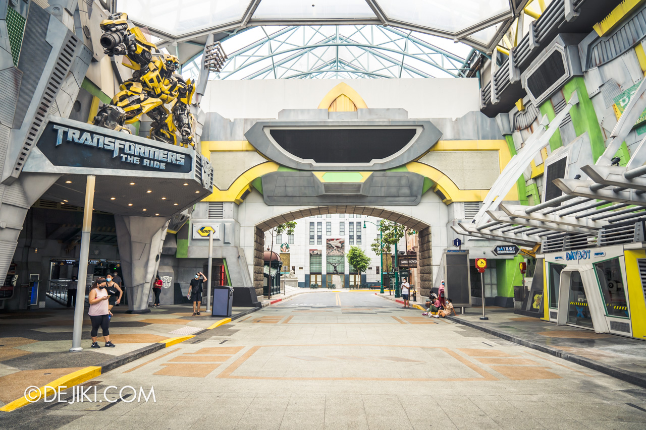 Universal Studios Singapore Park Update July 2020 Reopening Priority Entry Special Sci Fi City 2