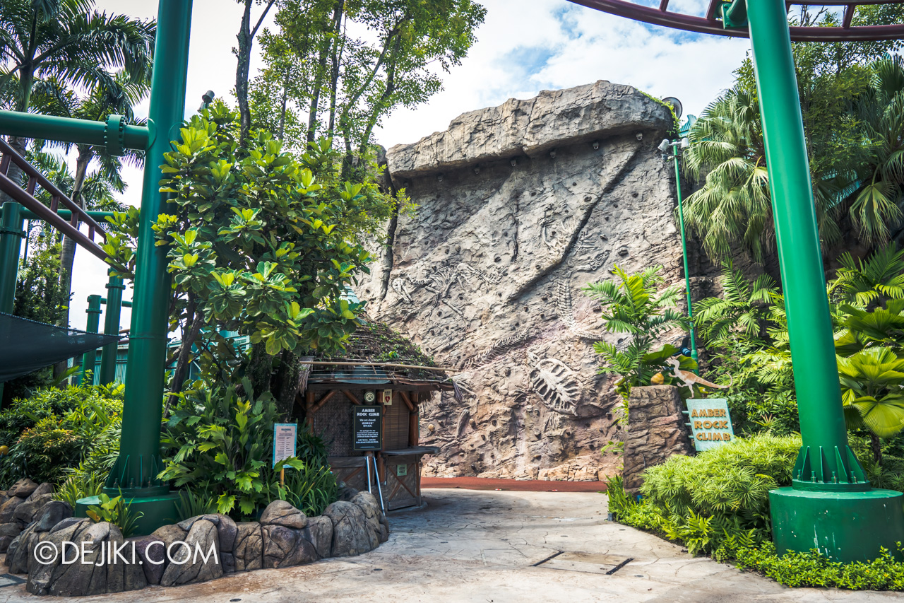 Universal Studios Singapore Park Update July 2020 Reopening Temporary suspension of Amber Rock Climb