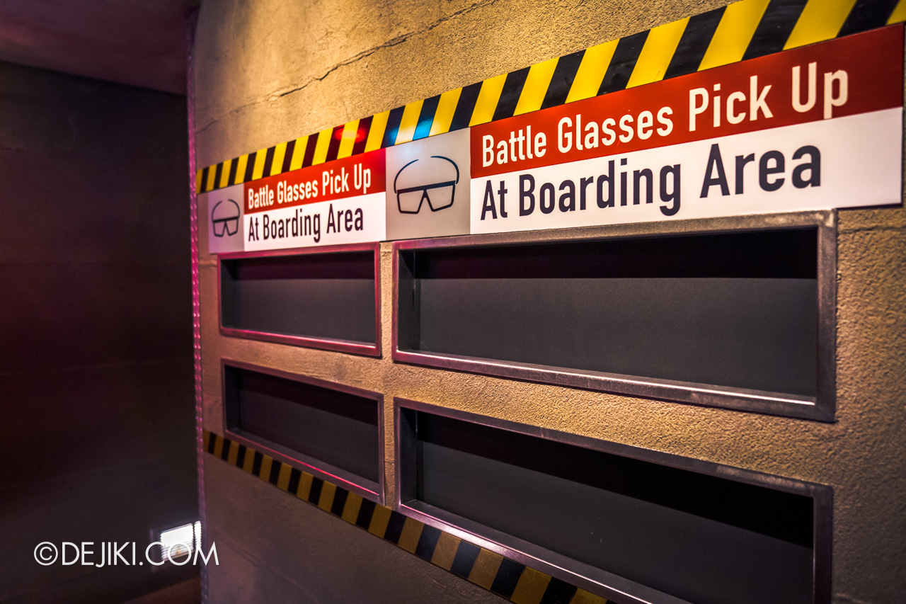Universal Studios Singapore Reopening Safe Management Measures Transformers Ride glasses pickup at boarding