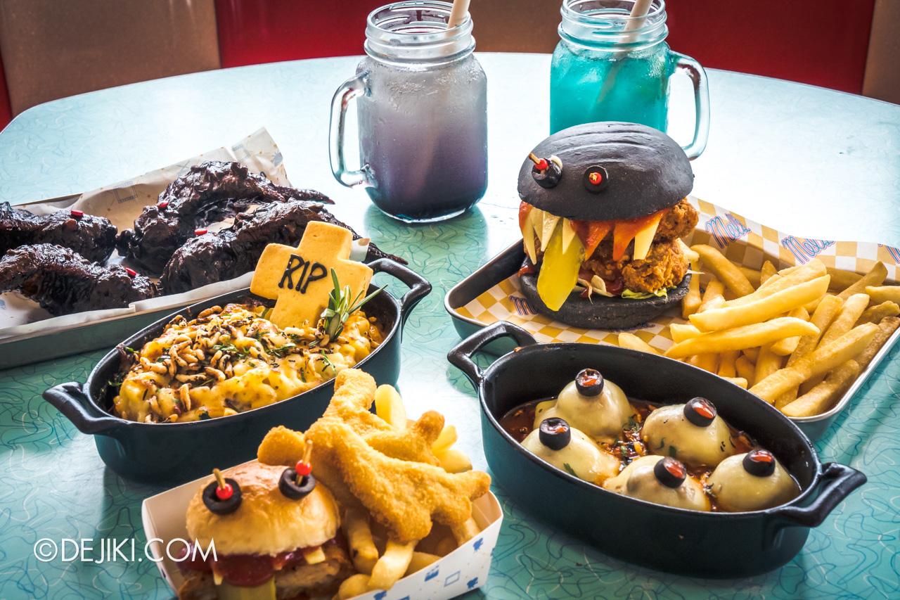Universal Studios Singapore Park Update Sept 2020 Devil licious Food
