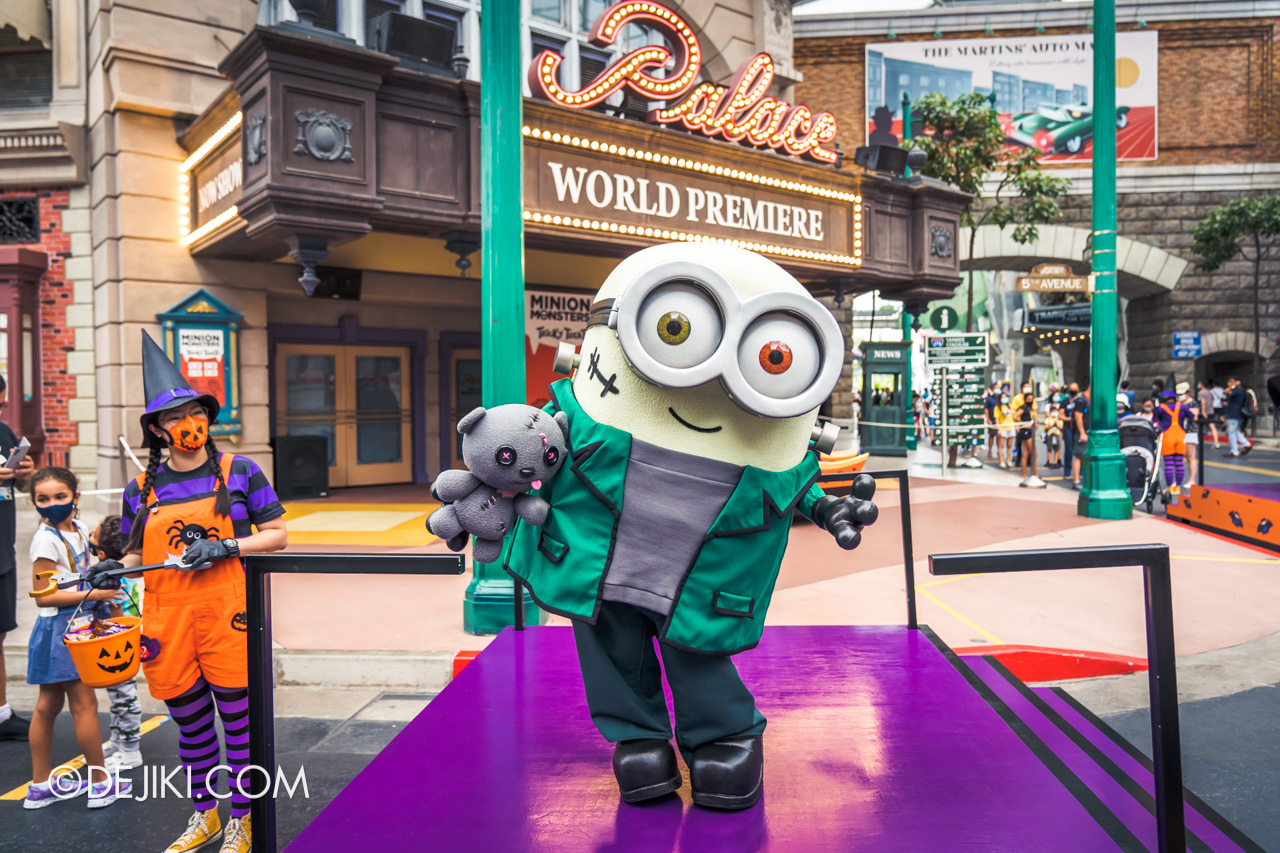Universal Studios Singapore Park Update Sept 2020 Halloween Fun for Everyone Minion Monsters Tricky Treats FrankenBob