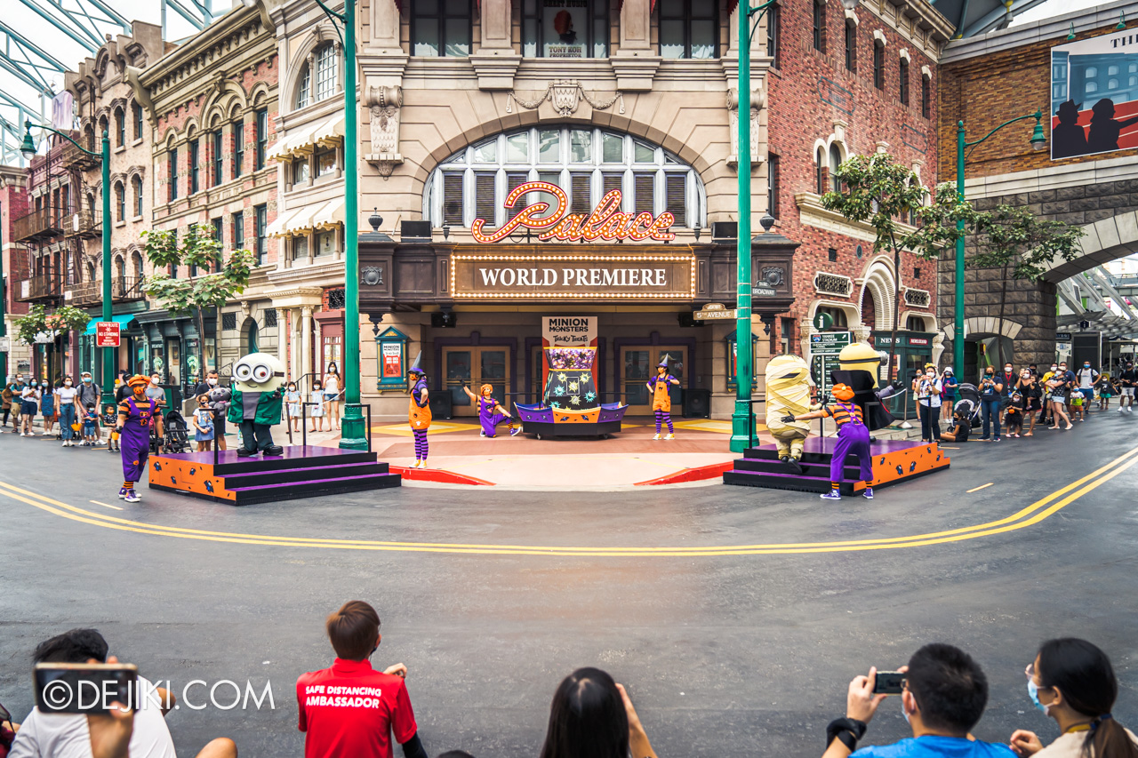 Universal Studios Singapore Park Update Sept 2020 Halloween Fun for Everyone Minion Monsters Tricky Treats street
